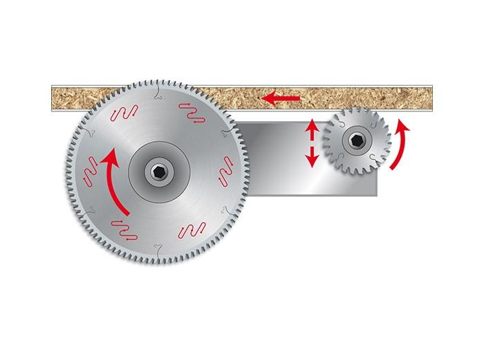 Kreissägeblatt HM 300 x 3,2/2,2 x 30 mm, Z=84