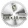 Kreissägeblatt <br/>Ø 138 x 10mm