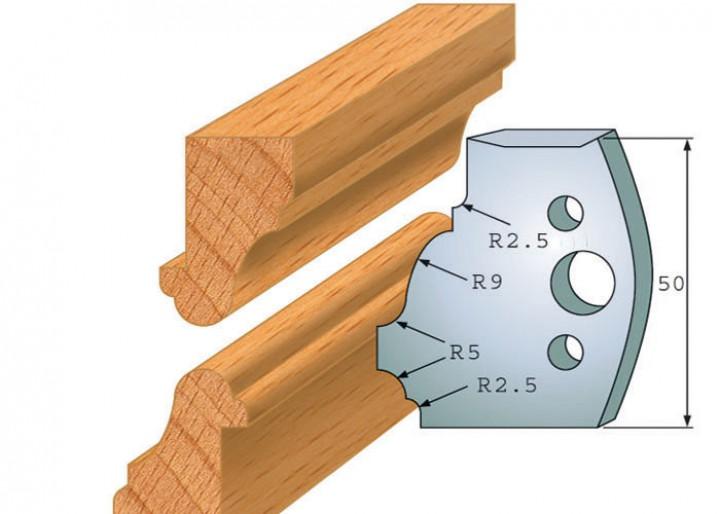 Profilmesser-Paar 558