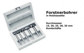 Forstnerbohrer-Satz 5-tlg.