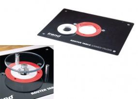 Set Trend Einlegeplatte und Freifräs-Schutzschild
