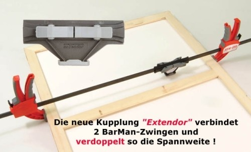 Kupplung f. BarMan-Zwinge Typ 408