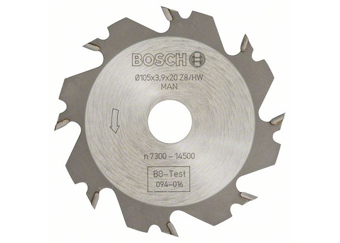 Bosch Scheibenfräser 105x4x20 mm Z 8