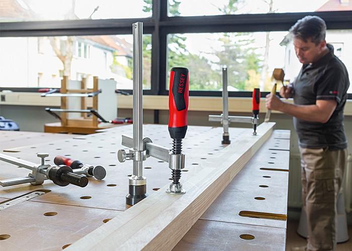Spannelement variabel für Werkbänke 200 mm
