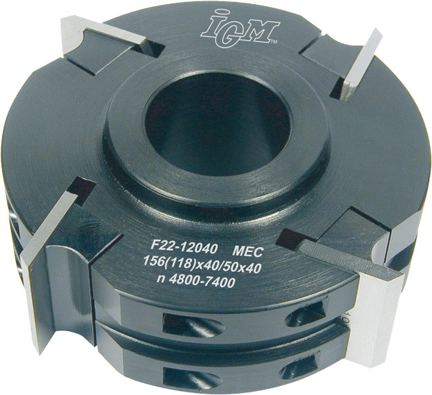 Universal Fräskopf D 120 mm Stahl MEC Z4