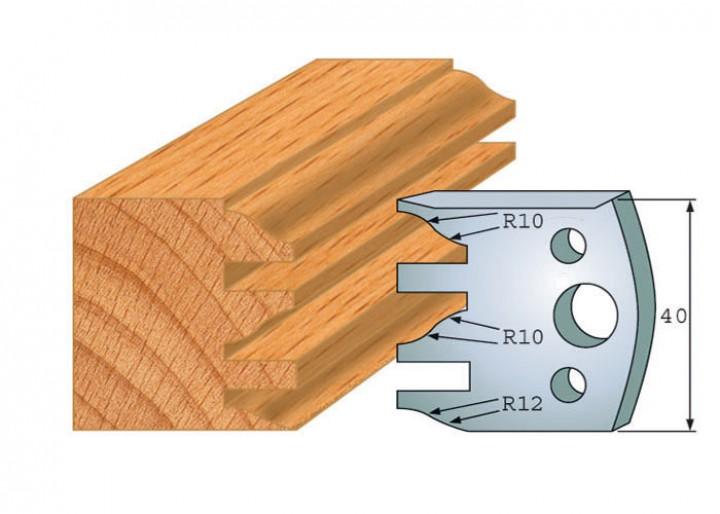 Profilmesser-Paar 124