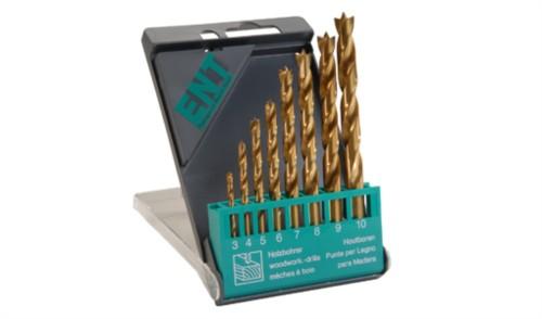 Holzspiralbohrer TIN-beschichtet 3 - 10 mm