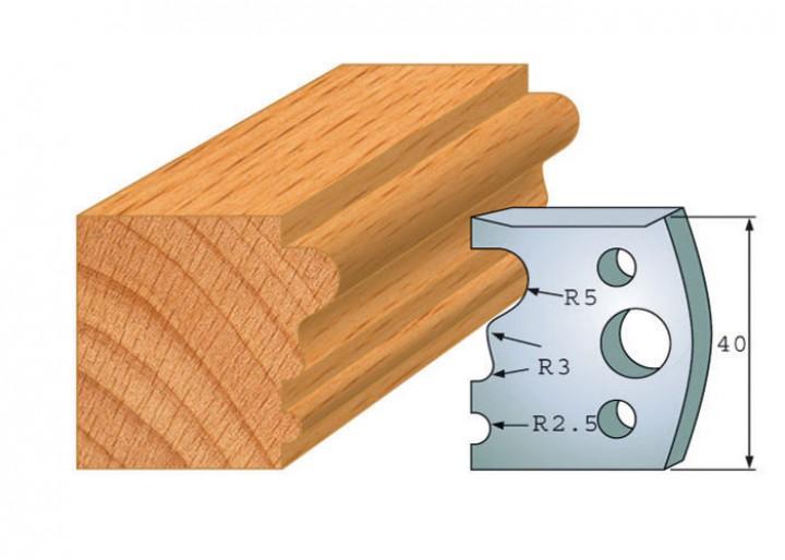 Profilmesser-Paar 033