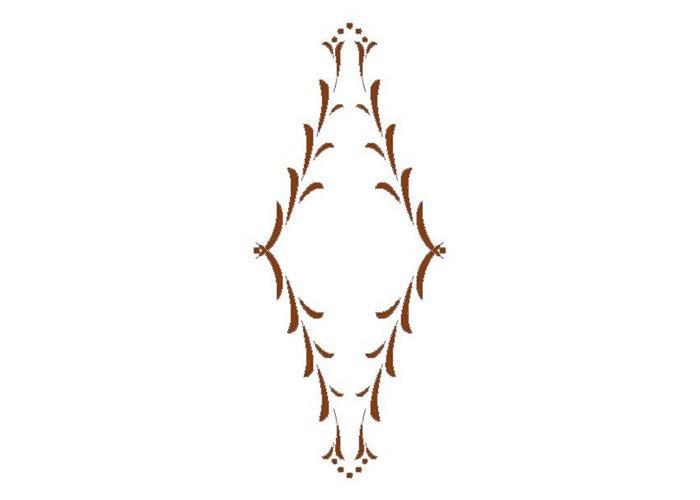 Frässchablone Florentina