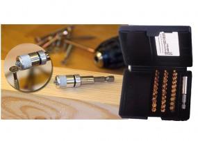31-tlg. Bit-Kassette TIN & Magnetbithalter Set