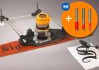 3D Pantograph mit 3 kostenlosen Fräsern