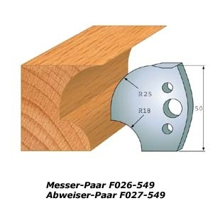 Profilmesser-Paar 542