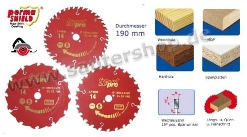 Kreissägeblätter D 190 mm