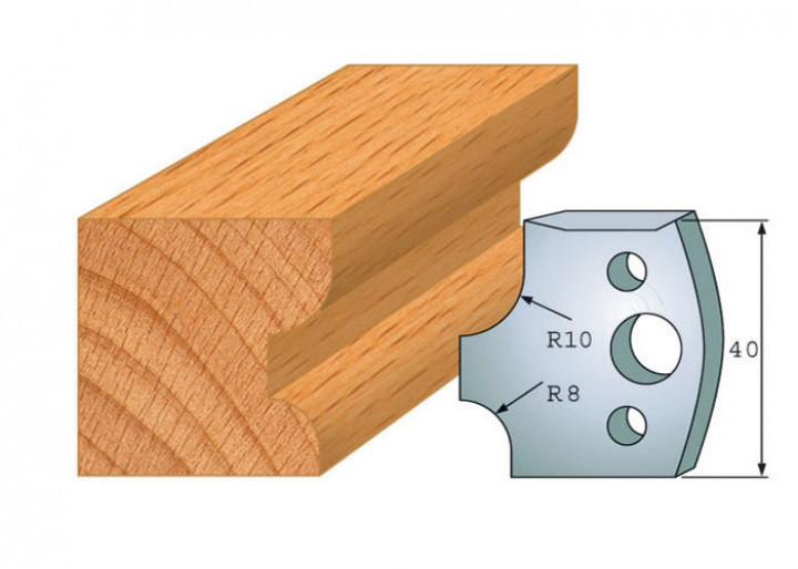 Profilmesser-Paar 040