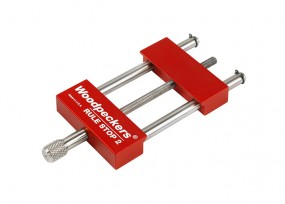 Verstellbarer Anschlag für Lineale bis 57 mm