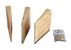 Holzkeil 30x34x0 7mm