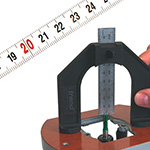 Measuring gauge - Setting gauge - Measuring tape