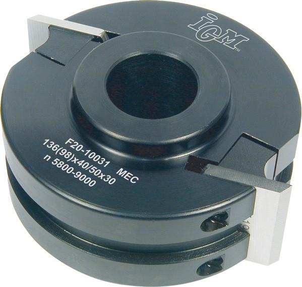Universal Fräskopf D 120 mm Alu MEC