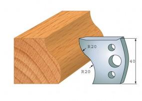 Profilmesser-Paar 009