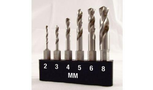 Kurzbohrer Set HSS Metall