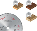 für alle Holzarten & beschichtete Plattenwerkstoffe