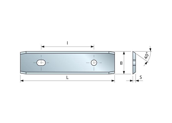 HM-Wendemesser 50 x 12 x 1,5 mm