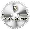 Kreissägeblatt <br/>Ø 100 x 20mm