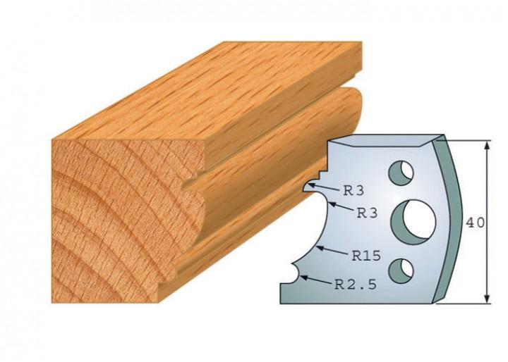 Profilmesser-Paar 121