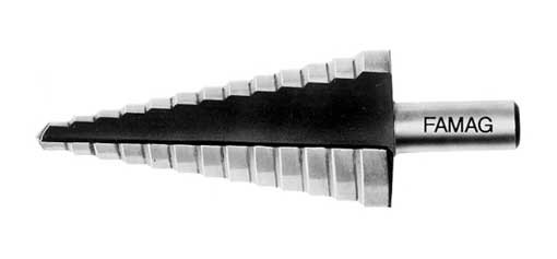 Stufenbohrer HSS 4 - 12 mm
