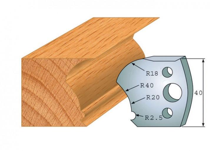 Profilmesser-Paar 123