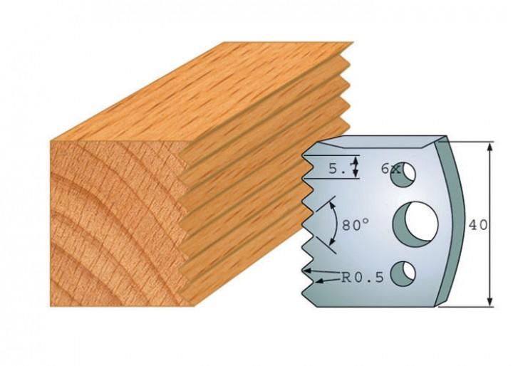 Profilmesser-Paar 077