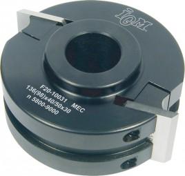 Universal Fräskopf D 100 mm Alu MEC