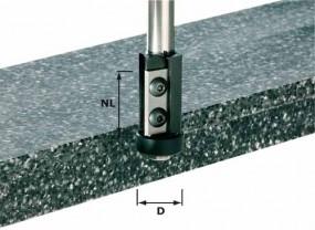 Wendeplatten-Bündigfräser HW Schaft 12 mm HW S12 D21/30WM