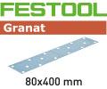 80 x 400 mm - Granat
