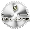 Kreissägeblatt <br/>Ø 140 x 12,7