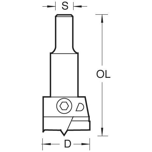 Scharnierlochbohrer 60 - 80 mm