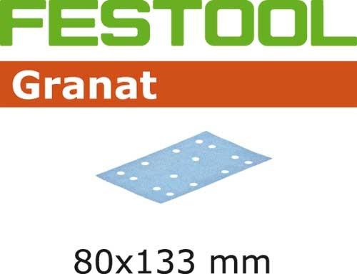 Schleifstreifen STF 80x133 P80 GR/50