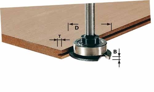 Scheibennutfräser HM D40x2,8 mm