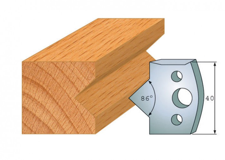 Profilmesser-Paar 035