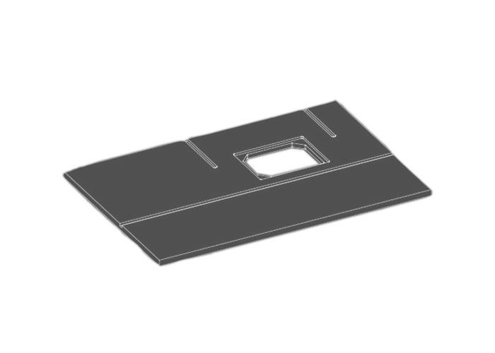 sauter Frästischplatte Multi-Maxi