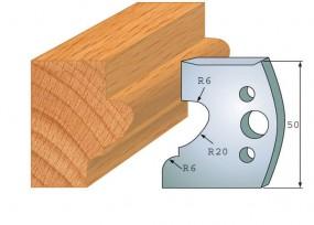 Profilmesser-Paar 505