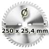 Kreissägeblatt <br/>Ø 250 x 25,4
