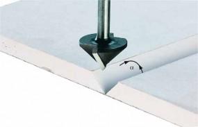 Gipskartonfräser HW Schaft 8 mm HW S8 D32/90°