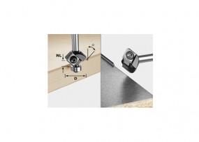 Wendeplatten-Fasefräser HW S8 HW 45° D27 12x12 KL