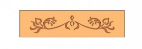 Frässchablone Kaskade