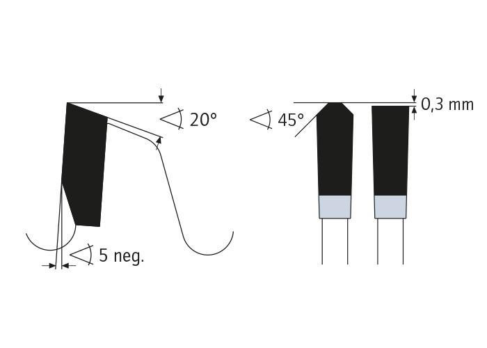 Kreissägeblatt HM 250 x 3,2/2,5 x 32 mm, Z=60