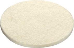 Polierfilz PF-STF-D80x10-W/5