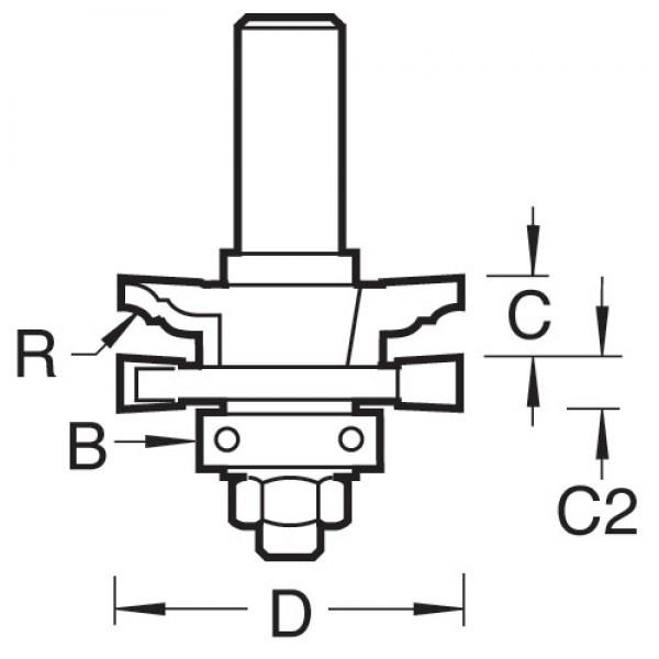 Profil- & Konterprofil-Set