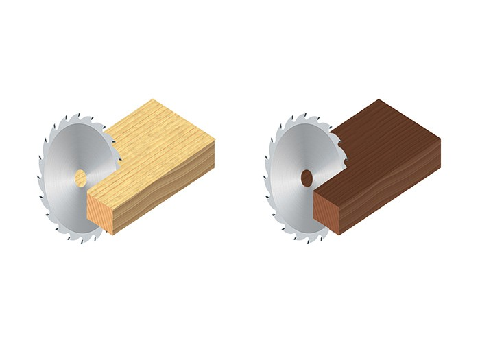 HM-Kreissägeblatt für Massivholz LU1D-1100