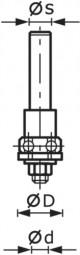 Frässpindel S8 1,5-5 KL16